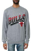 Mitchell & Ness The Chicago Bulls Diagonal Logo Sweatshirt - Lyst