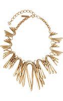 Oscar de la Renta Gold-plated Stem Necklace  Accessories  Libertycouk - Lyst