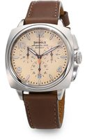 Shinola Brakeman Stainless Steel Chronograph Watch - Lyst
