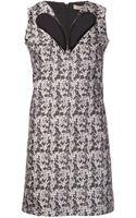 Christopher Kane Print Dress - Lyst
