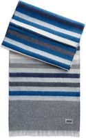 Hugo Boss Jonner  Wool Double Sided Scarf - Lyst