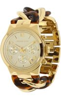 Michael Kors Chain Watch - Lyst