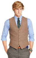 Polo Ralph Lauren Polo Houndstooth Vest - Lyst