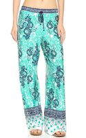 Nanette Lepore Batiki Print Beach Pants  - Lyst