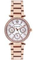 Michael Kors Parker 33mm Rose Gold Watch - Lyst