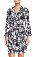 Cosabella Pordenone Printed Jersey Robe - Lyst