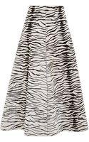 Fausto Puglisi Pony Zebra Pencil Skirt - Lyst