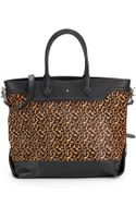 Ash Smith Leopard-print Calf Hair  Leather Tote Bag - Lyst