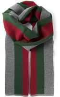 Gucci Striped Scarf - Lyst