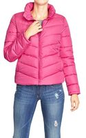 Old Navy Frost Free Quilted Jackets - Lyst