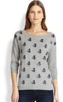 Weekend By Maxmara Pandoro Embroideredrose Sweater - Lyst