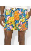 Polo Ralph Lauren Polo Island Floralprint Swim Trunks - Lyst