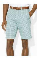 Polo Ralph Lauren Links-fit Gingham Short - Lyst