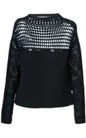 Helmut Lang Micro Grid Sweater - Lyst