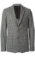 Ami Alexandre Mattiussi Houndstooth Pattern Jacket - Lyst