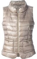Herno Padded Gilet - Lyst