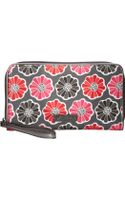Vera Bradley Large Zip-around Wallet - Lyst