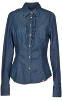 Weekend By Maxmara Denim Shirt - Lyst