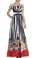 DSquared2 Long Dress - Lyst