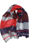 Michael Stars Wrapped in Stripes Scarf - Lyst