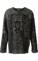 Dolce & Gabbana Medieval King Printed Top - Lyst
