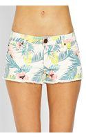 Forever 21 Island Denim Shorts - Lyst