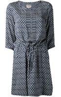 Sea Drawstring Dress - Lyst