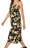 Nasty Gal Romp in The Roses Maxi Dress - Lyst