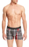 Hugo Boss Cyclist 2p Bm  Stretch Cotton Boxer Brief 2pack - Lyst