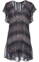 Isabel Marant Short Dress - Lyst