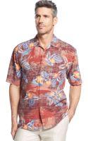 Tommy Bahama Beach Mode Silk Shirt - Lyst