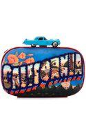 Sarah's Bag Box Road Trip Embellished Clutch - Lyst