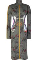 Preen By Thorton Bregazzi Printed Jersey Etta Dress - Lyst