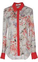 Prabal Gurung Long Sleeve Shirt - Lyst