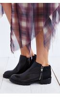 Jeffrey Campbell Cavill Calf Hair Ankle Boot - Lyst