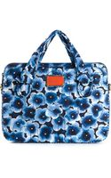 Marc By Marc Jacobs Flower Print Laptop Bag - Lyst