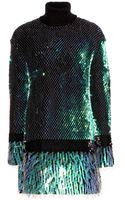 McQ by Alexander McQueen Sequinembellished Dress - Lyst