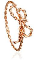 Astley Clarke Bow Ring - Lyst