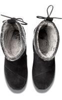 Toms Wool Stripe Womens Nepal Boots - Lyst