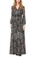 Michael Kors Leopard-print Dress - Lyst