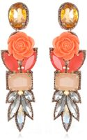 Suzanna Dai Fiji Drop Earrings Blushcoral - Lyst