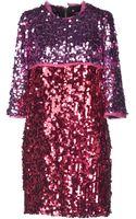 Marco Bologna Short Dress - Lyst