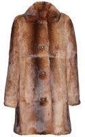 A.P.C. New Poupée Fur Coat - Lyst