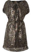 Vivienne Westwood Anglomania Garland Volume Print Dress - Lyst