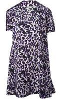 Balenciaga Printed Dress - Lyst
