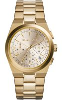 Michael Kors Midsize Golden Stainless Steel Channing Chronograph Watch - Lyst