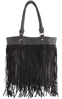 Deux Lux North-south Fringe Tote Bag - Lyst