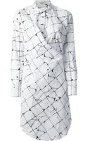 Jean Paul Gaultier Checked Shirt Dress - Lyst