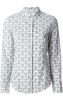 RED Valentino Owl Printed Shirt - Lyst