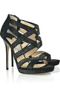 Jimmy Choo Jewel Leather Sandals - Lyst